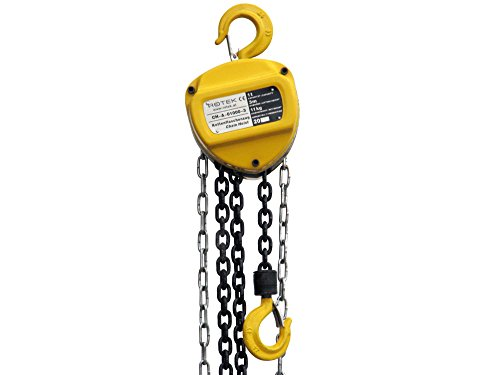 ROTEK Kettenflaschenzug 1t Kapazität, 3m Einsatzhöhe, CH-A-01000-03