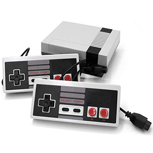 Classic NES Retro Console, AV Output Mini Game Console Built-in 620 Games with 2 Classic Controllers