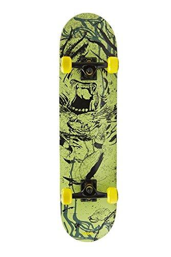 Area Skateboard Pepe - Robustes, preisgünstiges Einsteiger-Board bis 80 kg / 80,3 cm (31,6 Zoll)