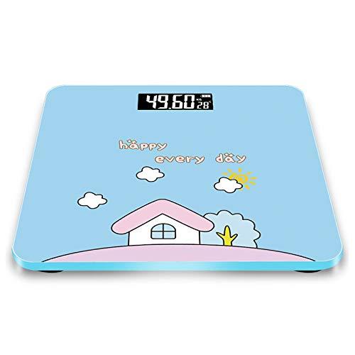 RY Balanza electrónica Balanzas de peso Batería doméstica Balanza electrónica Exacta Balanza de peso Patrón de dibujos animados @
