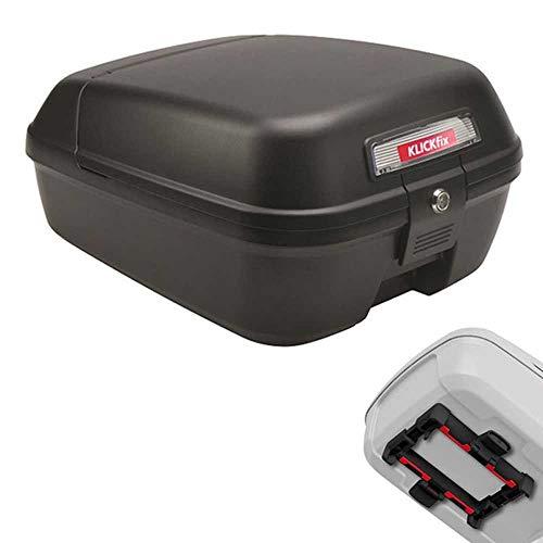 KLICKfix Unisex– Erwachsene City-Box Gepacktasche, schwarz, 1size