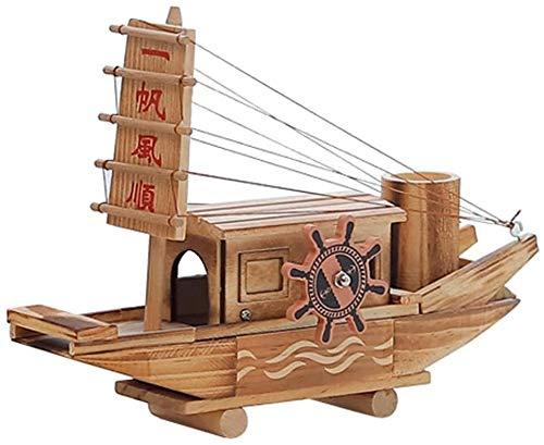 kaige Music Box Sail Segel Spieluhr hölzernes Schiffsmodell Kreative Geburtstagsgeschenk Uhrwerk Spieluhr WKY