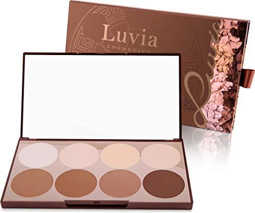 Luvia Contouring Palette - Prime Contour Mit Extra Leicht Verblendbarem Setting Powder, Bronzer,...