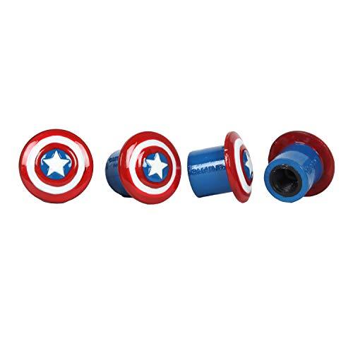Pilot MVL-0301 Marvel Captain America Valve Caps