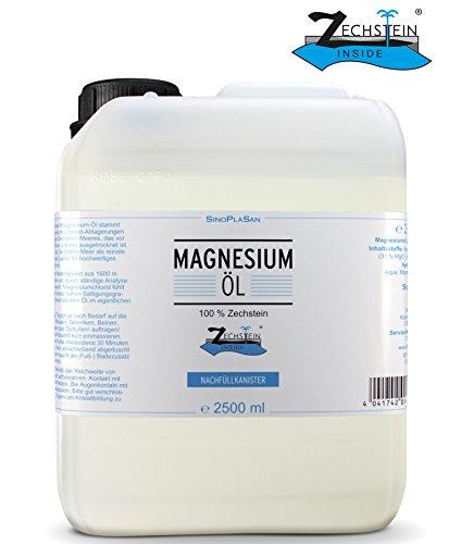 Bidón de aceite de magnesio de 2500 ml,...