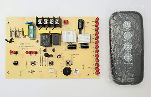 PC Control Board and Remote Control - Parts for EdenPURE 1000 GEN3 & SunTwin 1500 GEN3 Infrared Heater