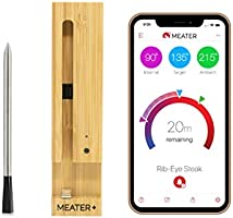 MEATER Plus | 50m Long Range Smart Wireless Meat Thermometer for The Oven Grill Kitchen BBQ Smoker Rotisserie with...