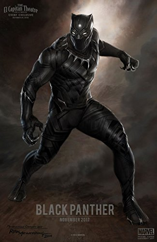 Poster Black Panther Movie 70 X 45 cm