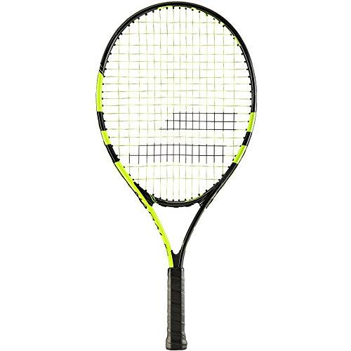 Babolat Nadal Jr 23 Raquetas de Tenis, Unisex niños, Negro/Amarillo, 00