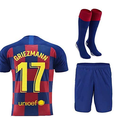 WWJJE Fußballanzüge, Fußballtrainingsanzüge für Männer, Kurzarm-Fußballanzüge, Fußballuniformen und Kurze Jugendkleidung-26
