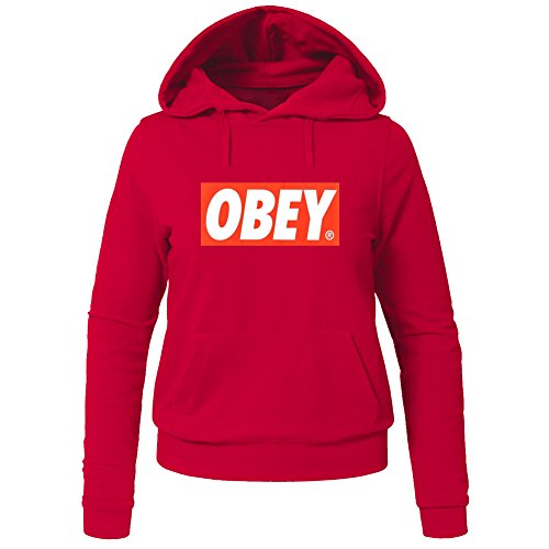 Obey Print Hip Pop for Ladies Womens Hoodies Sweatshirts Pullover Outlet