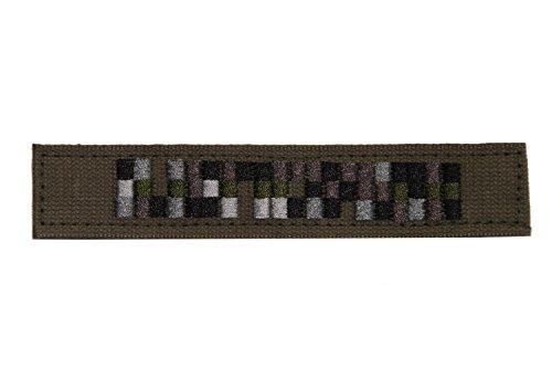 Unbekannt Namensstreifen Spezialkräfte Pixel 3 Stück Oliv