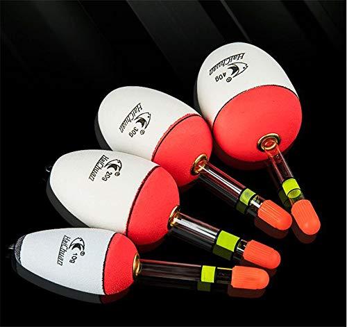 RGRGH Lot de 5 poteaux Lumineux pour pêche en mer avec...