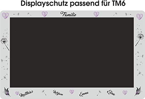 Displaybeschermfolie voor de TM6 familie paars