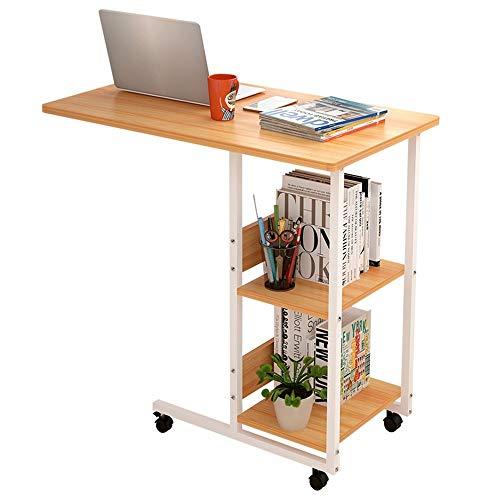 Carl Artbay Home&Selected meubilair/mobiele laptoptafel, studietafel, bureau, sofakast eettafel 80 * 40 * 76,2 cm (kleur: wit)