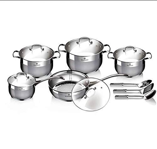 BLAUMANN - Juego de utensilios de cocina de alta calidad, 13