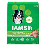 IAMS PROACTIVE HEALTH Adult Minichunks Small Kibble High Protein Dry Dog Food with Real Chicken, 38.5 lb. Bag