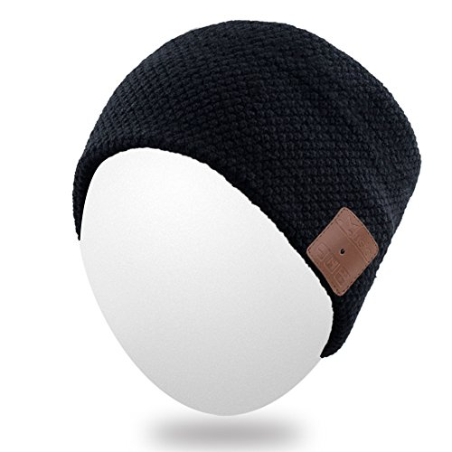 Qshell diadema Bluetooth con altavoces inalámbricos de auriculares manos...