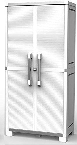 Keter XL Pro Utilidad Armario Alto, Color Blanco, 88x 45x 187cm