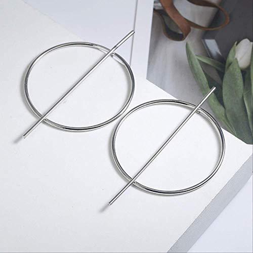 Geschenken Oorbellen Ronde Dangle Drop Oorbellen Dames Geometrisch Rond Hart Gouden Oorbel Bruiloftssieradenez17-2