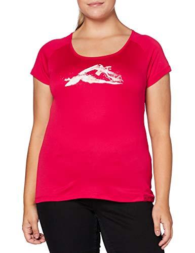 Millet - Tana TS SS W - T-Shirt Sport Femme - Respirant - Randonnée, Approche, Lifestyle - Rose