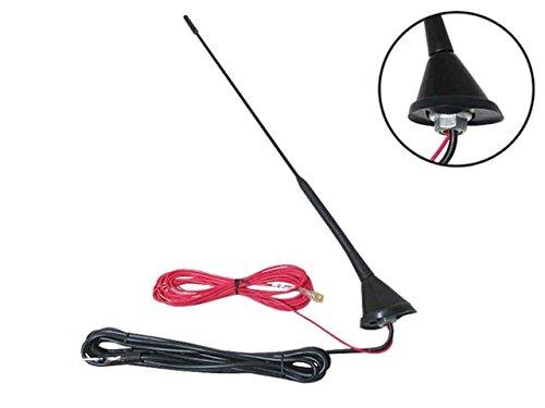 accessorio per la sostituzione dellantenna radio FM//AM per montaggio sul tetto dellauto. KIMISS Antenna per auto