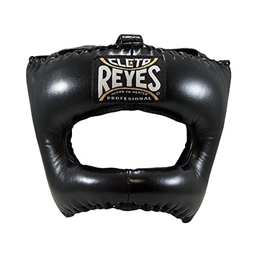 CLETO REYES Traditional Headgear with Nylon Face Bar - Black