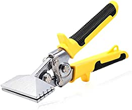 SPEEDWOX Hand Seamers Sheet Metal Tools Straight Jaw 3 Inches Manual Metal Bender Tool Straight Hand Seamer Tongs Multifunction Folding Pliers