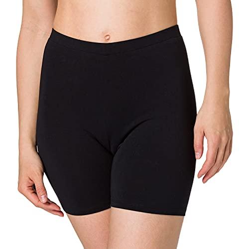 edc by ESPRIT Damen 041CC1C314 Shorts, 001/BLACK, L