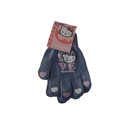 Gants enfant fille Hello kitty imprimés 'Love' Lilas TU