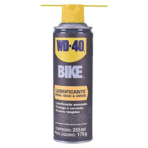 Óleo Lubrificante para Corrente Seco e Úmido 255 ml Bike WD-40
