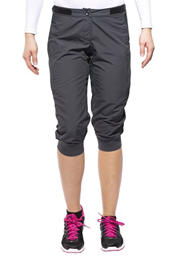 adidas Cycling Damen Radhose Trail Sport Shorts, Dark Grey, M