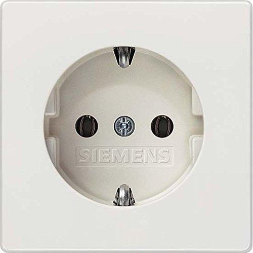 Siemens 5UB1853 21299620 Delta Style, titanweiß Schuko-Steckdose 10/16A 250V