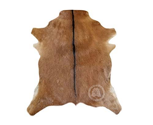 Alfombra de Piel de Cabra Colores Sólidos Oscuros 75 cm x 60 cm - Pieles del Sol