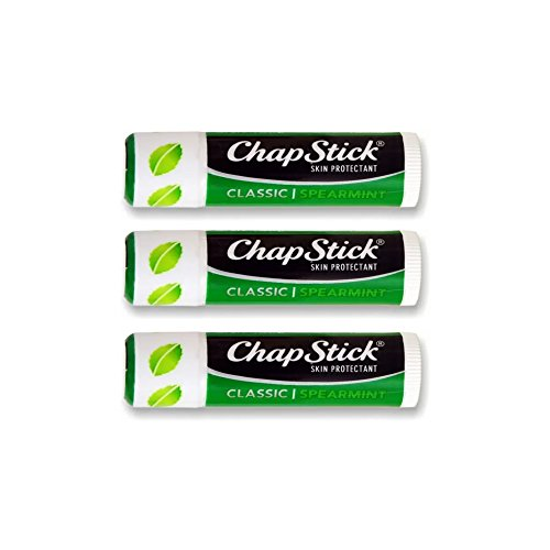 Chap Stick Skin Protectant | Classic Spearmint (Pack of 3)