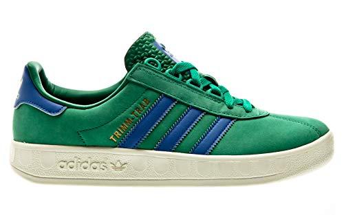 adidas Originals Trimm Trab, Bold Green-Blue-Cream White, 6