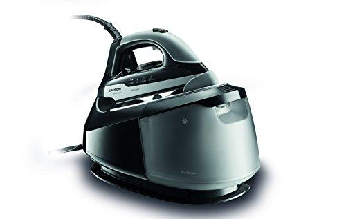 Grundig SIS 9450 Premium 2400 W Dampfbügelstation mit 6 Bar Dampfdruck und XL Wassertank, schwarz