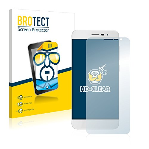 BROTECT Schutzfolie kompatibel mit Coolpad Torino S (2 Stück) klare Bildschirmschutz-Folie