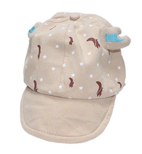 Colourful Baby World - Chapeau - Bébé (garçon) 0 à 24 mois Taille unique - Beige - S