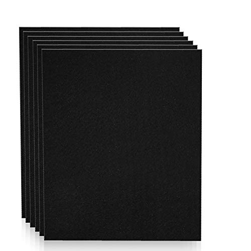 Altec Filters 6 Activated Carbon Pre-Filters Compatible with HPA300 Air Purifier, Premium Quality Replacement PreFilters HW Filter A (6 Pack)