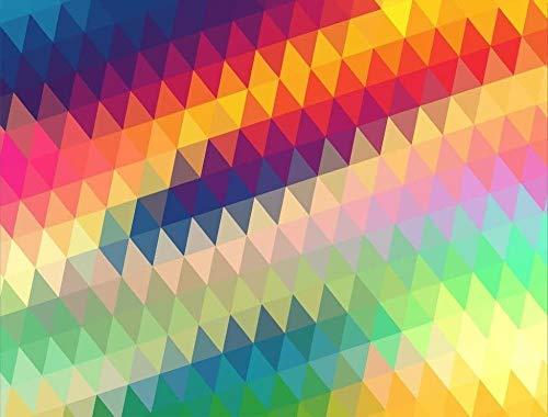 Puzzle 1000 Piezas Arcoiris Geométrico Puzzle Para Niños Adultos 70X50Cm Juguete Educativo Para Niños Hogar Regalo De Cumpleaños Personalizado Creativo