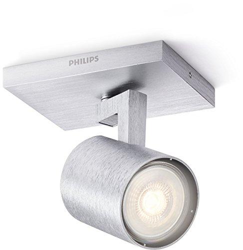 Philips 5309048P0, myLiving LED Spot Runner 1flg, 230lm, Aluminium, Metall, 3.5 watts, Integriert, 9 x 11 x 10.7 cm