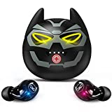 AMAFACE Earbuds for Kids Cute Design in-Ear Wireless Earphones for Kids Boys Adult Bluetooth 5.0 Waterproof Sport Stereo Headphones with Mic for iPhone/Android