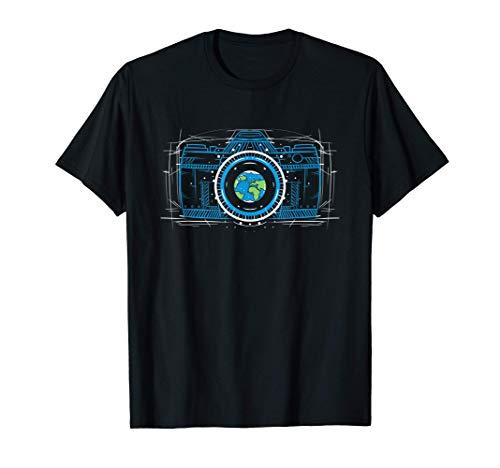 Fotografia Cámara Fotografo Profesional Regalo Camiseta