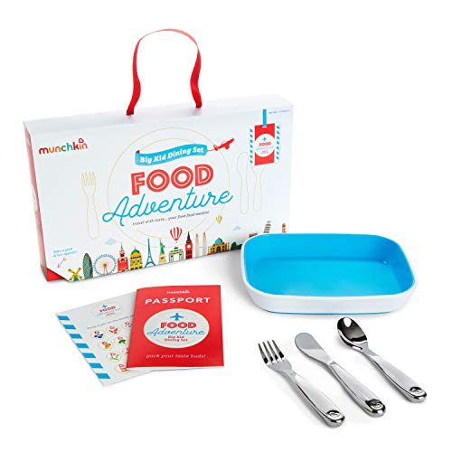Munchkin Coffret Repas Food Adventure Splash, Bleu