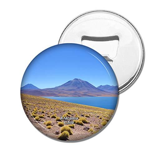 Weekino Miniatures Et Miniatures San Pedro De Atacama Chili Bière Ouvre-Bouteille Aimant De Réfrigérateur Voyage Souvenir Autocollant de réfrigérateur Fort