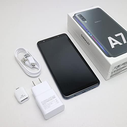 SIMフリー Galaxy A7 ブラック SM-A750C