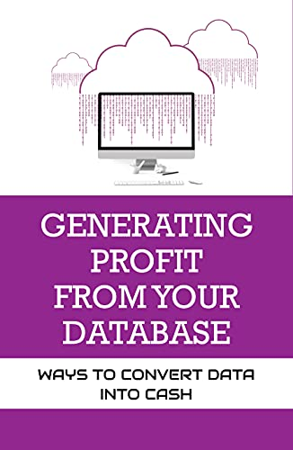 Generating Profit From Your Database: Ways To Convert Data into Cash: Rules For Concept And Data Modelling (English Edition)
