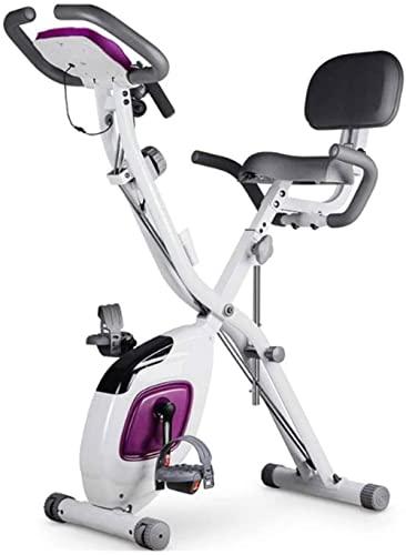 Cyclette Spinning Bike Casa Ultra-silenziosa Controllo magnetico Perdita di peso Pieghevole Cyclette per donna Attrezzatura fitness indoor Attrezzatura fitness Per allenamento-UN