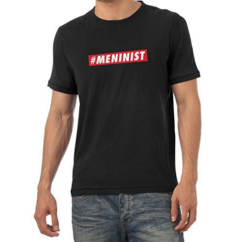 Texlab Meninist - Herren T-Shirt, Größe M, schwarz